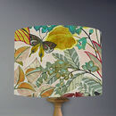 Hidden Paradise Lampshade In Pastel