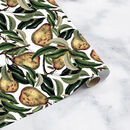 Vintage Pear Christmas Gift Wrap