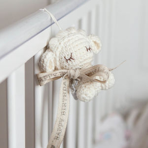 Personalised Tiny Lamb Soft Toy