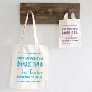 Hashtag Teacher Bag - bags & purses
