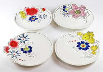 Molly Hatch Set Four Breakfast Plates