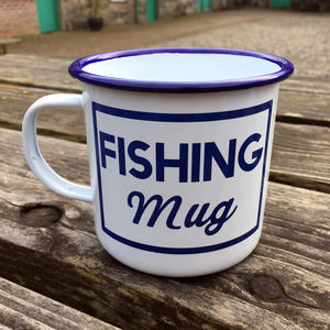 Fishing Mug - new in garden