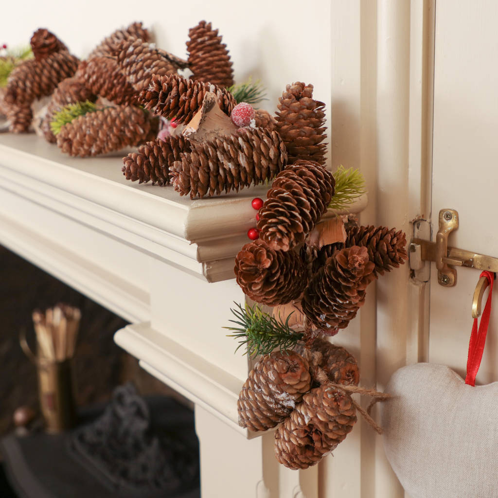 forest flurry pine cone christmas decoration collection