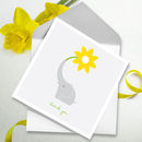 Thank You Card Single Flower