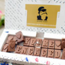 'You're Engaged' Chocolate Gift