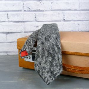 Harris Tweed Tie