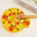 Wooden Pizza Play Set