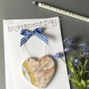 Personalised Map Keepsake Card