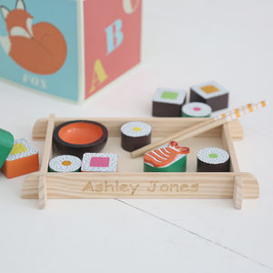 Wooden Sushi Toy - play scenes & sets