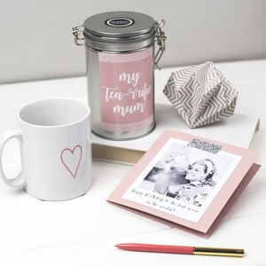 Personalised Mother's Tea Gift - tea & infusions