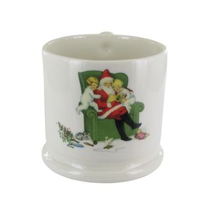 The Little Vintage Christmas Mug - dining room