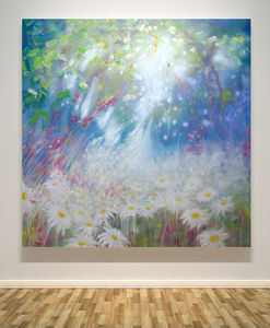 Glorious June A Large Oil Painting - new in prints & art