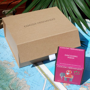 Explorer's Club Chocolate Gift Box - new in food & drink