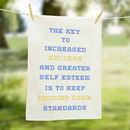 The Key To Success Tea Towel