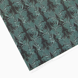 Tropical Dark Wrapping Paper - wrapping paper