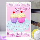 Personalised Cupcake Relation Birthday Card