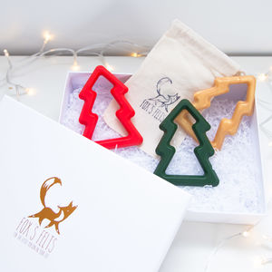 Silicone Christmas Tree Triple Gift Set
