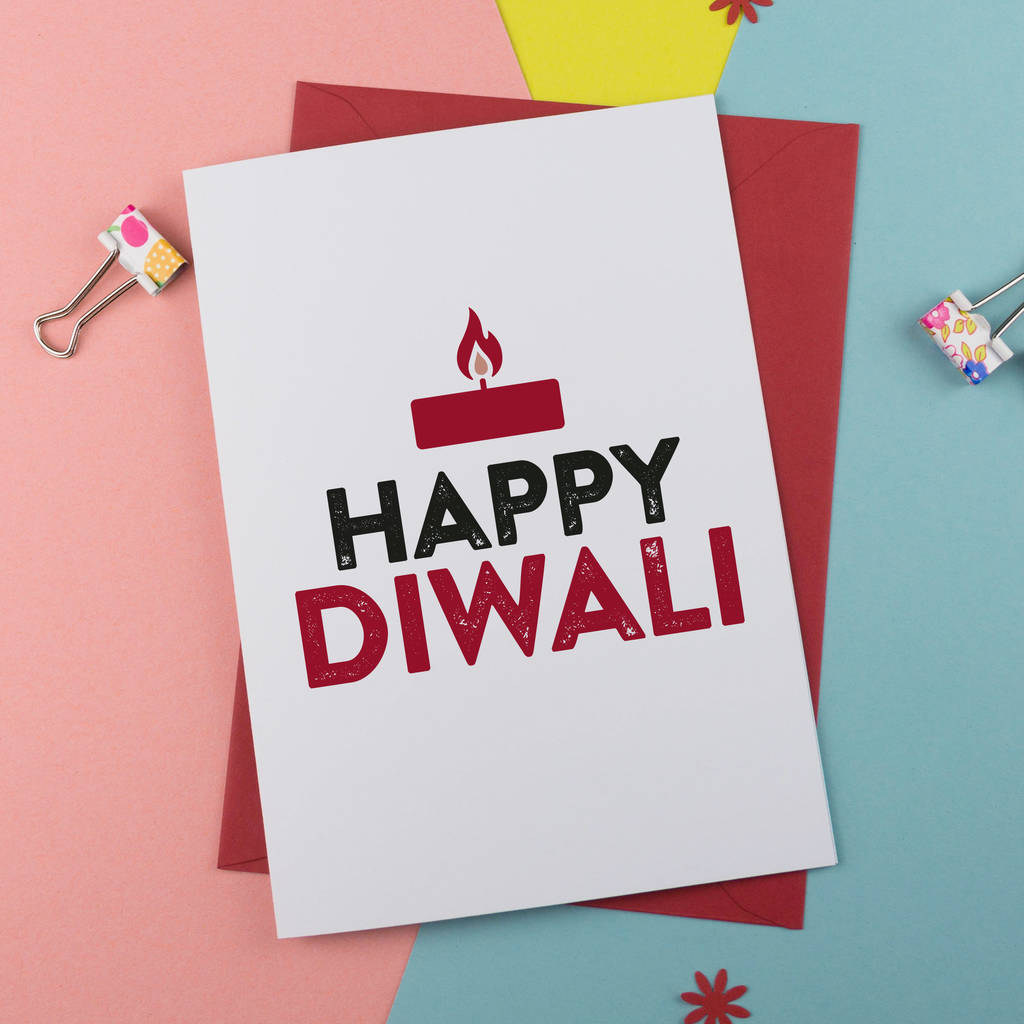 Happy Diwali Greetings Card By A Is For Alphabet
