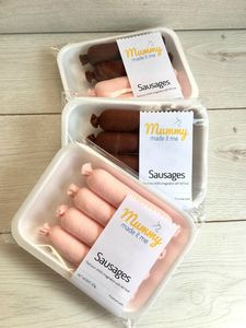Pretend Play Felt Food Sausages