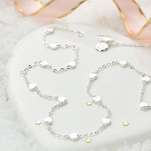 By The Inch Heart Necklace - christening jewellery