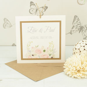Charlotte Wedding Invitation - invitations