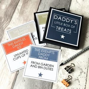 Gift For Dad / Father's Day Gift Little Box Of Treats - home accessories