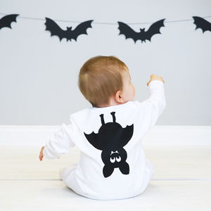 Bat Baby Sleepsuit