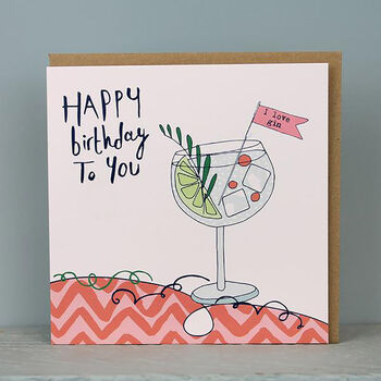 Pack Of Four Female Birthday Cards
