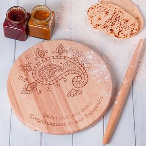 Personalised Indian Chapati Set
