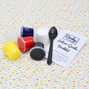 Dinky Screens Primary Colours Printing Inks Set