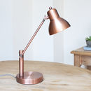 Copper Office Desk Lamp