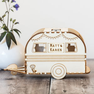 Personalised Retro Caravan Nightlight - housewarming gifts