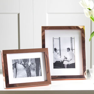 Classic Copper Photo Frame