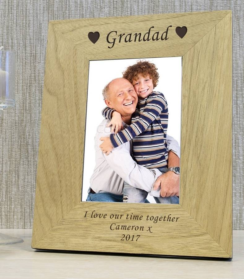 photo frames for grandad by babyfish | notonthehighstreet.com