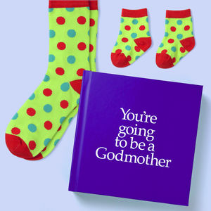 'You're Going To Be A Godmother' Gift - books