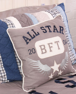 Varsity Cushion - decorative accessories