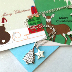 Christmas Tree Necklace - necklaces & pendants