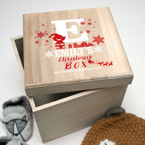 Children's Christmas Elf Box - christmas eve