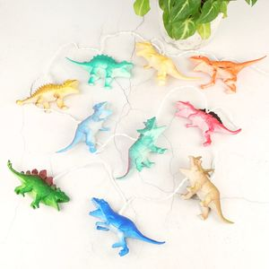 Colourful Dinosaur String Lights - children's lighting