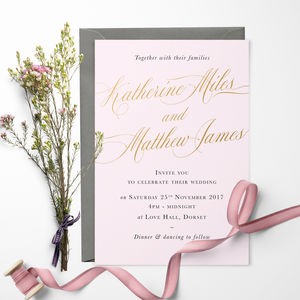 Romance Wedding Invitation - save the date cards