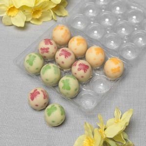 Colourful Chocolate Quail Eggs - easter gifts for adults
