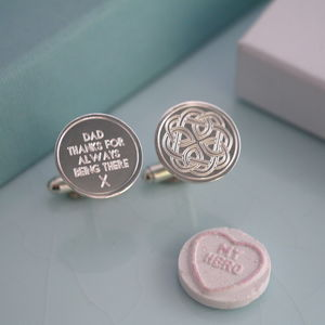 Fatherhood Cufflinks - mens