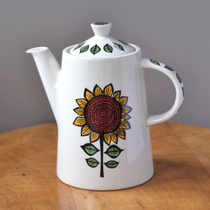 Sunflower Teapot - tableware