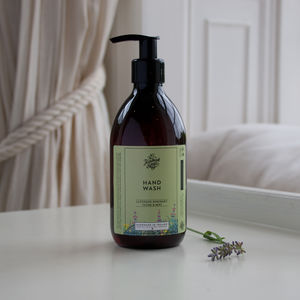 Lavender, Rosemary, Thyme And Mint Hand Wash - new in health & beauty