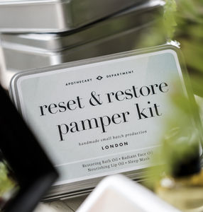 Reset And Restore Pamper Kit - men's grooming & toiletries