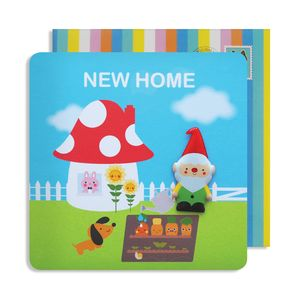 New Home Gnome Jelly Magnet Cards
