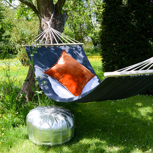 Contemporary Charcoal Garden Hammock - garden sale