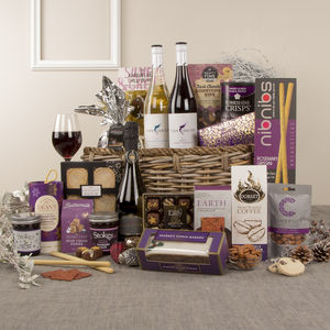 A Touch Of Class Christmas Hamper - drinks hampers