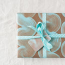 geometric wave paper and tag you could order