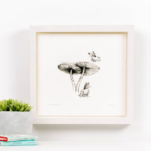 'Rhinoceros Beetles' Children's Illustration Print - animals & wildlife